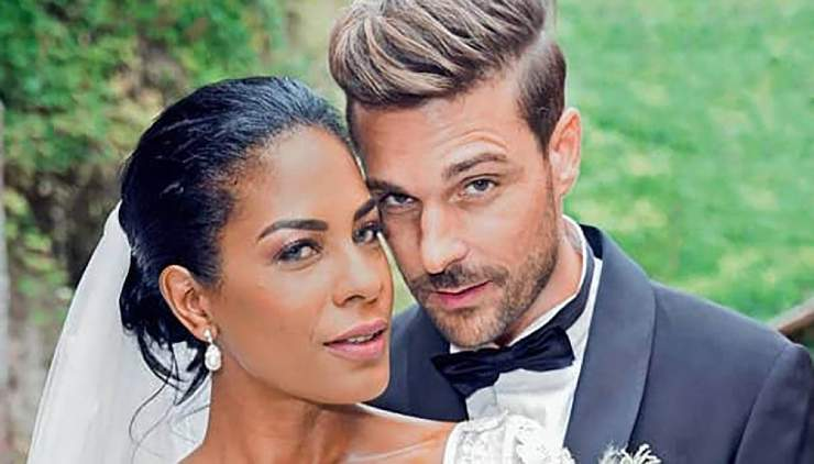 Georgette e Davide Tresse sposi - meteoweek