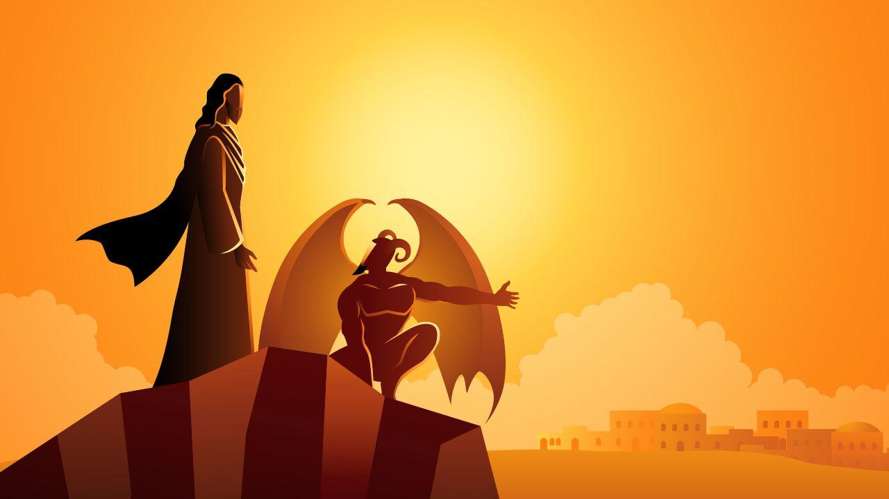 il diavolo e Gesù