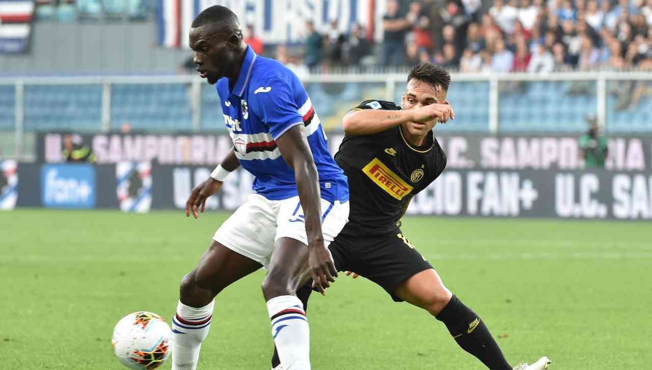 Sampdoria ufficiale rinnovo
