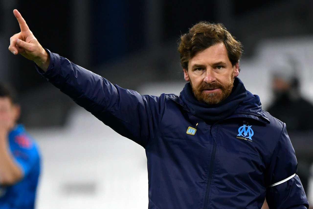 Villas Boas, allenatore del Marsiglia. Getty Images