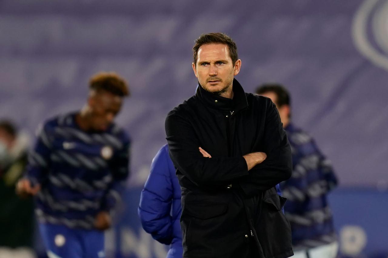 Frank Lampard, ex allenatore del Chelsea. Getty Images