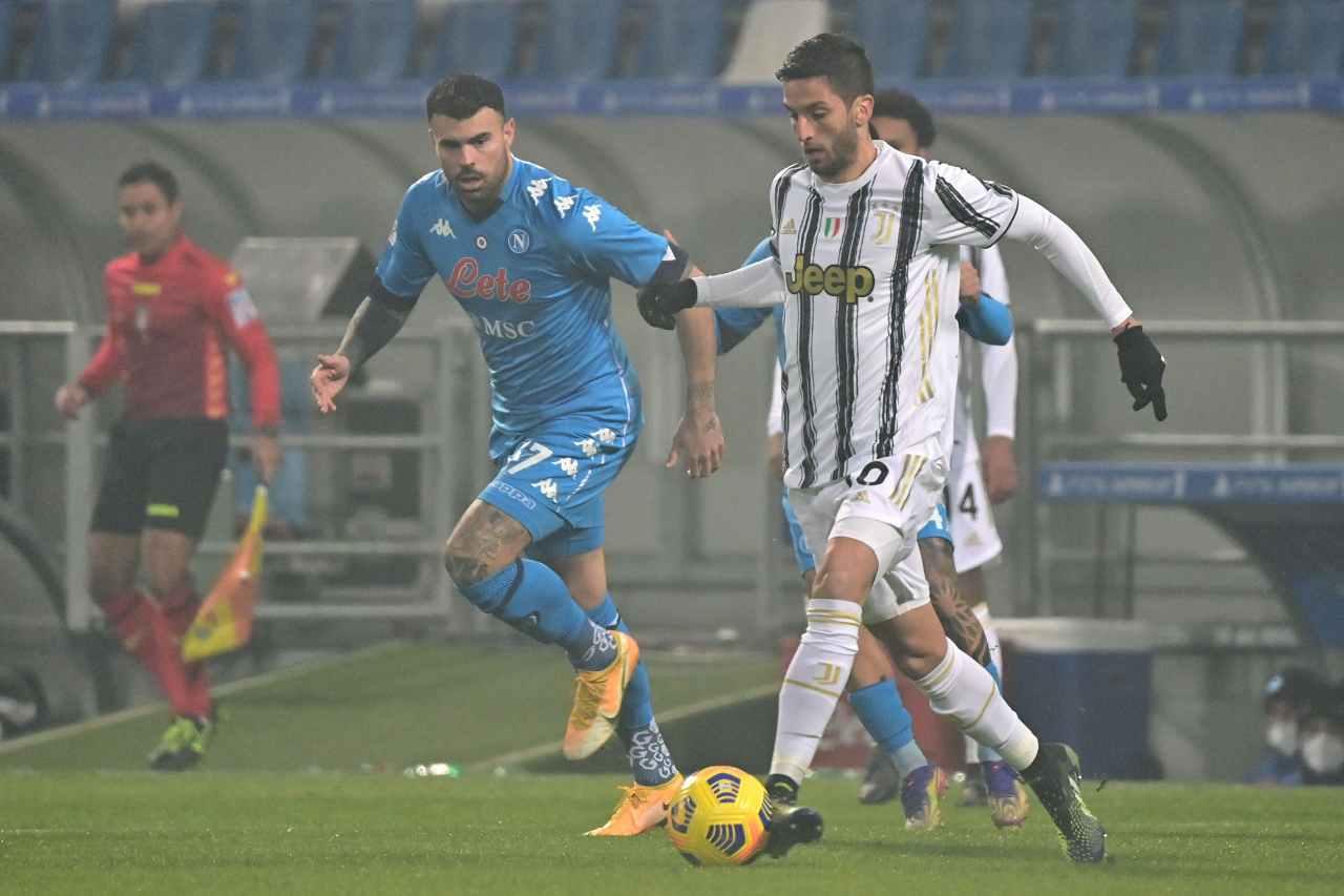 Andrea Petagna, attaccante del Napoli. Getty Images