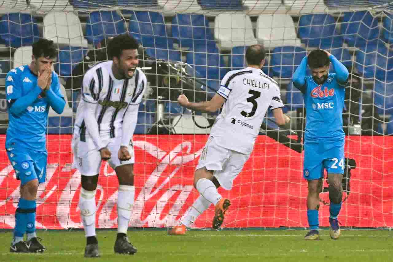 L'errore dal dischetto di Lorenzo Insigne contro la Juventus. Getty Images