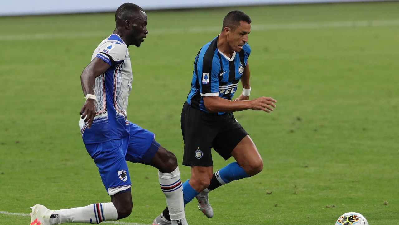 Sampdoria-Inter diretta streaming