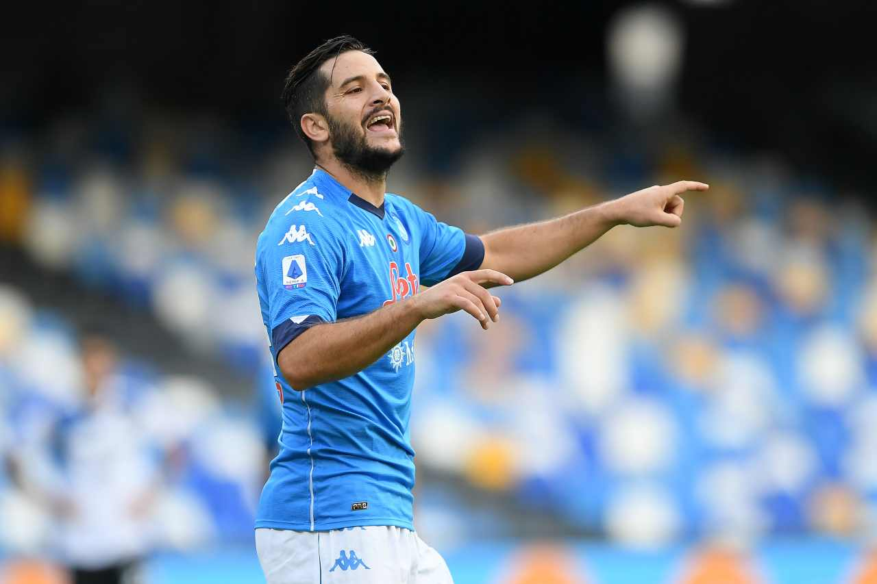 Kostas Manolas, difensore del Napoli. Getty Images