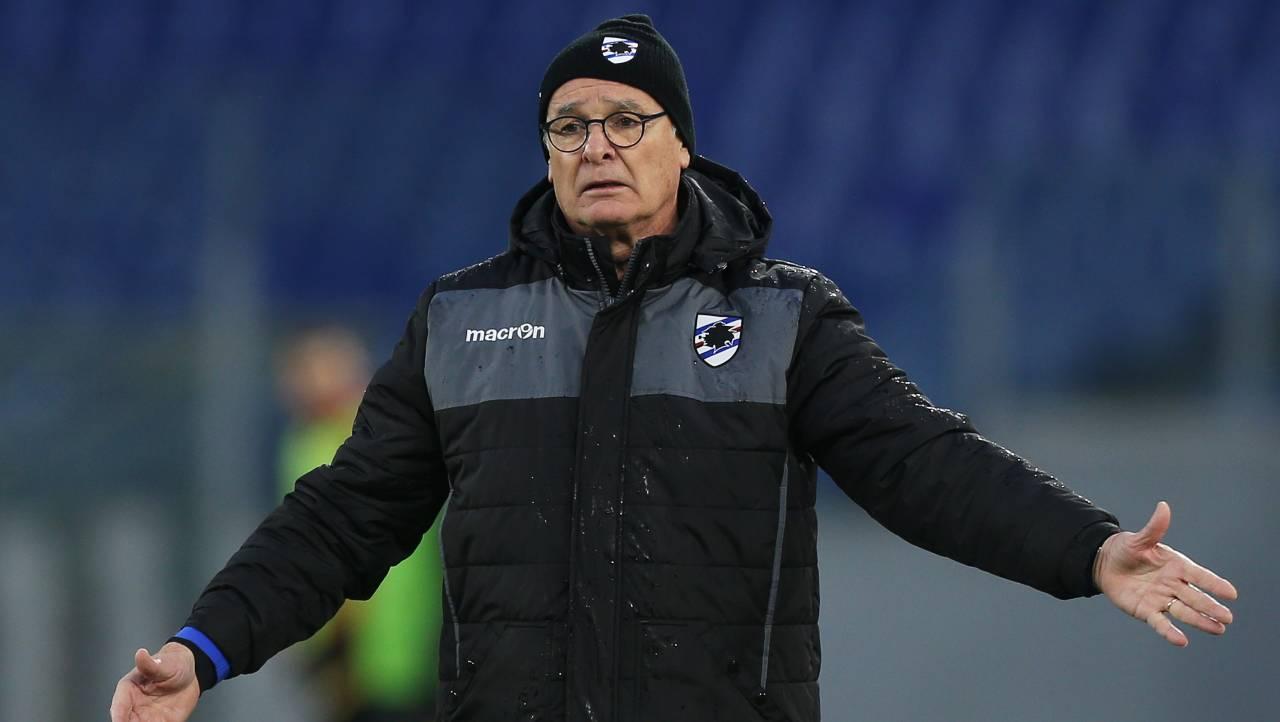 Sampdoria Ranieri Inter