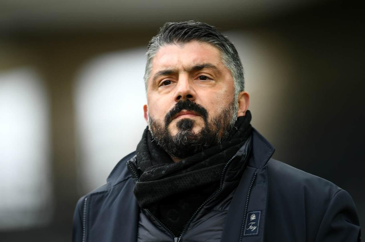 Gennaro Gattuso, allenatore del Napoli. Getty Images