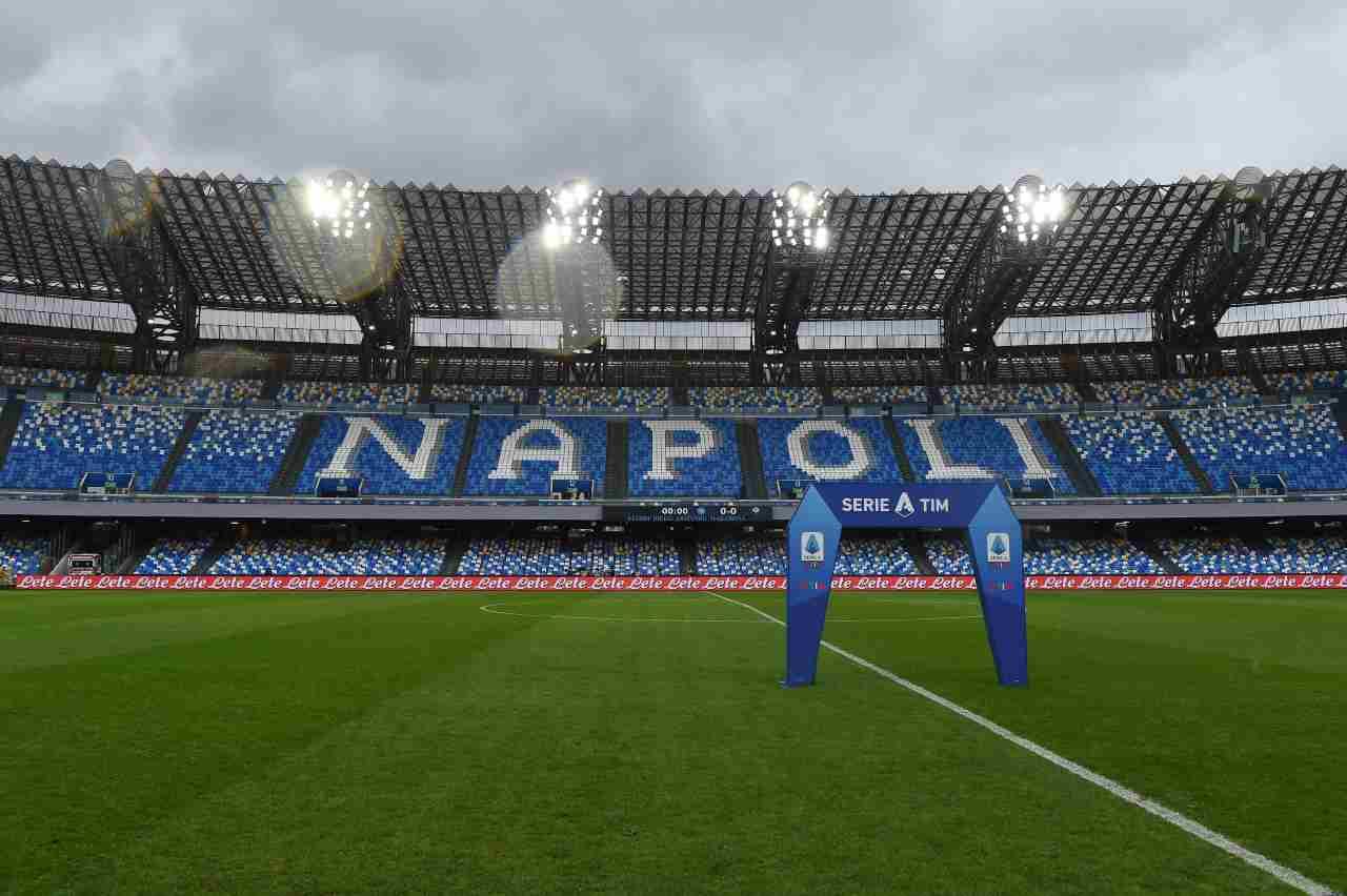 Lo stadio Diego Armando Maradona. Getty Images