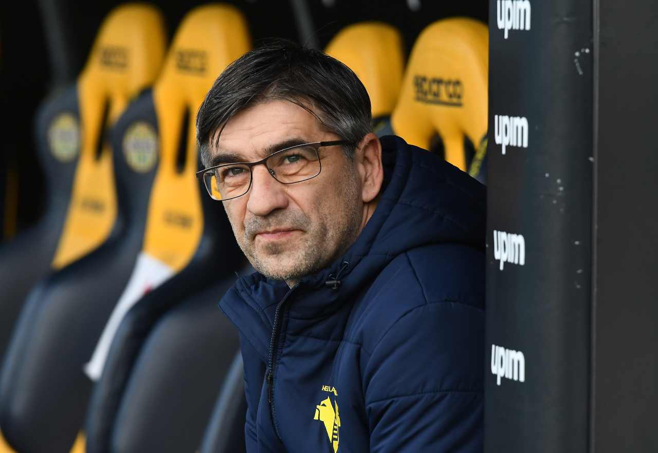 Ivan Juric, allenatore del Verona. Getty Images