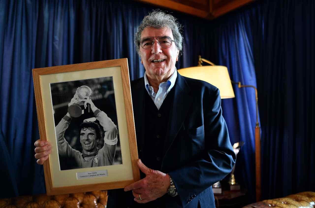 Dino Zoff, ex portiere italiano. Getty Images