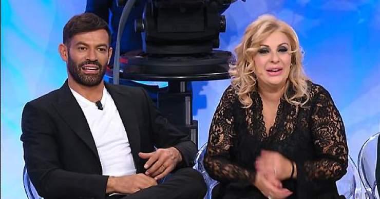 Gianni Sperti e Tina Cipollari - meteoweek