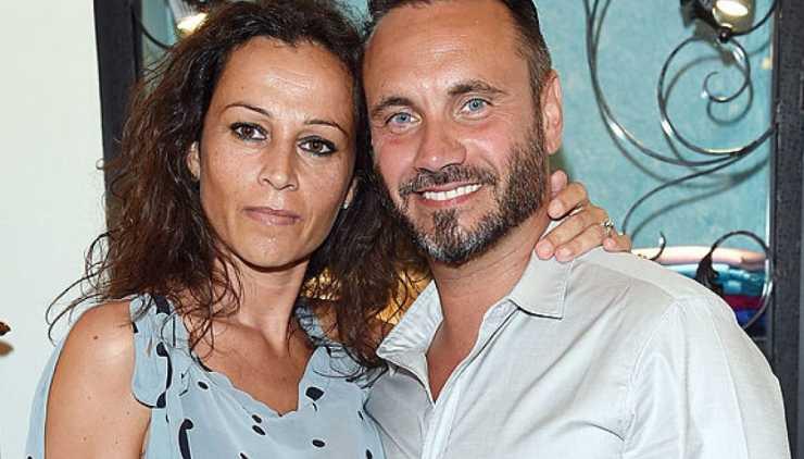 Il cantante con la moglie Patrizia Vacondio - meteoweek