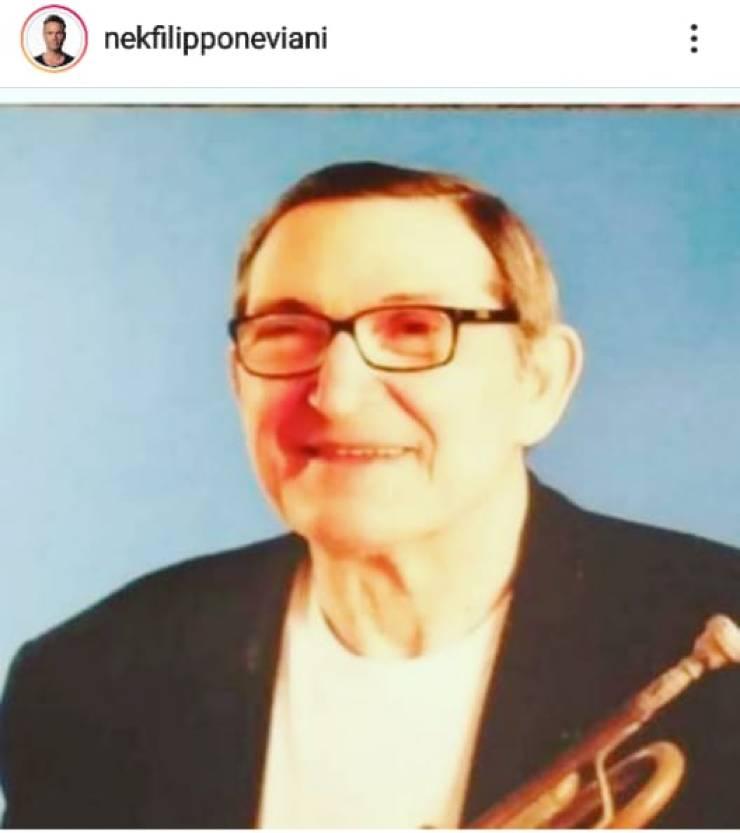 Il maestro Bruno Ascari - Fonte Instagram