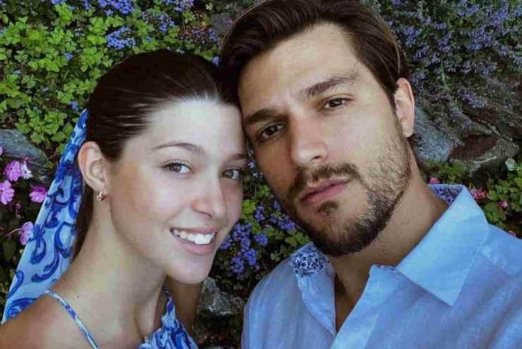 La splendida coppia formata da Natalia e Andrea Zelletta - meteoweek