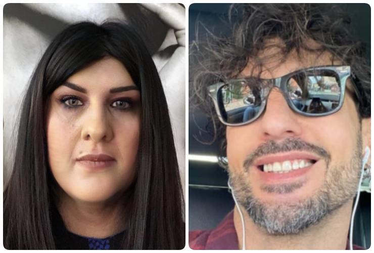 Lia Del Grosso e Fabrizio Corona
