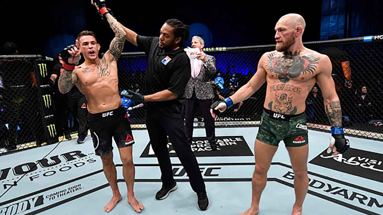 UFC Poirier v Mc Gregor