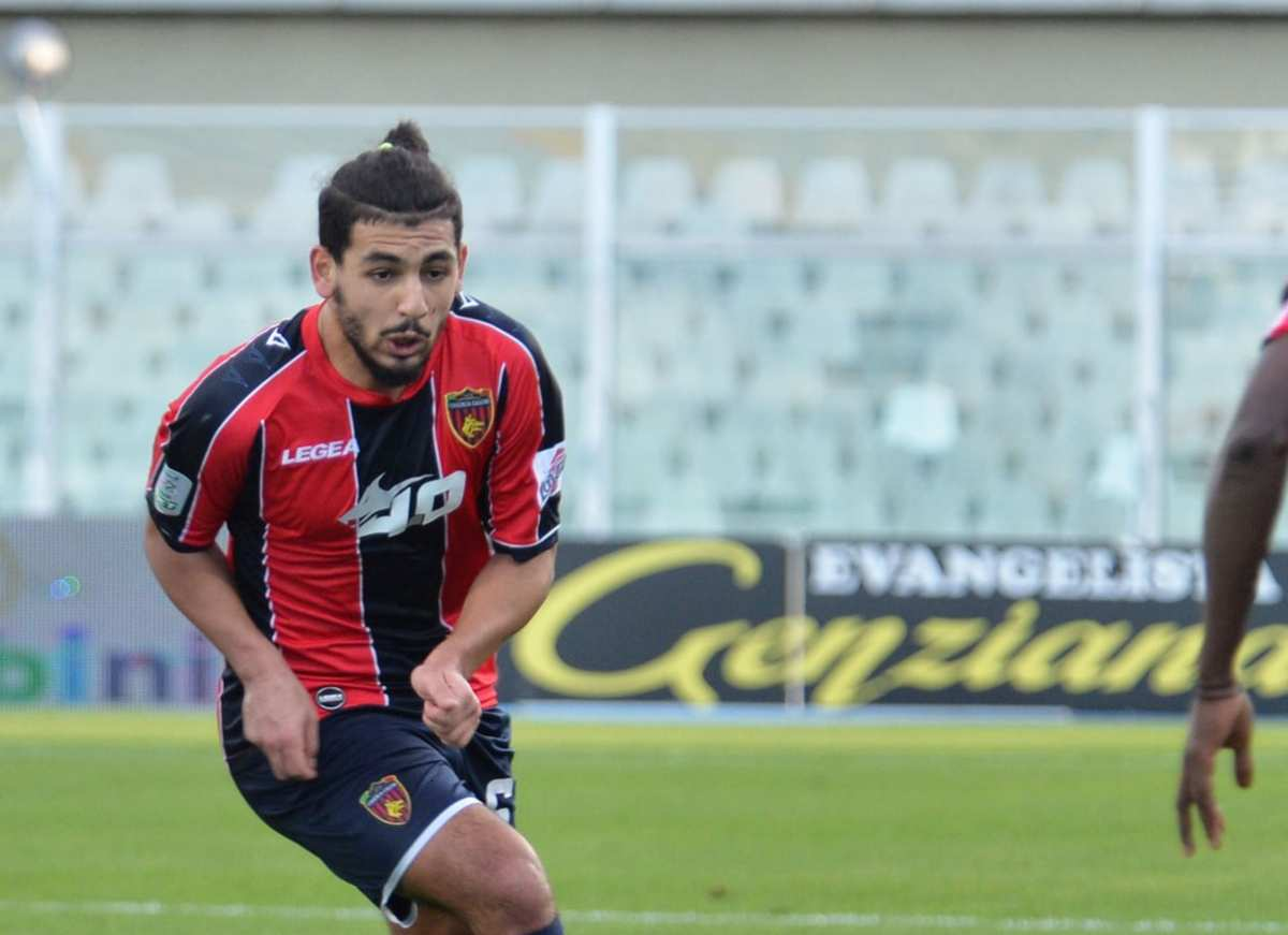 Mohamed Bahlouli durante la gara di Pescara