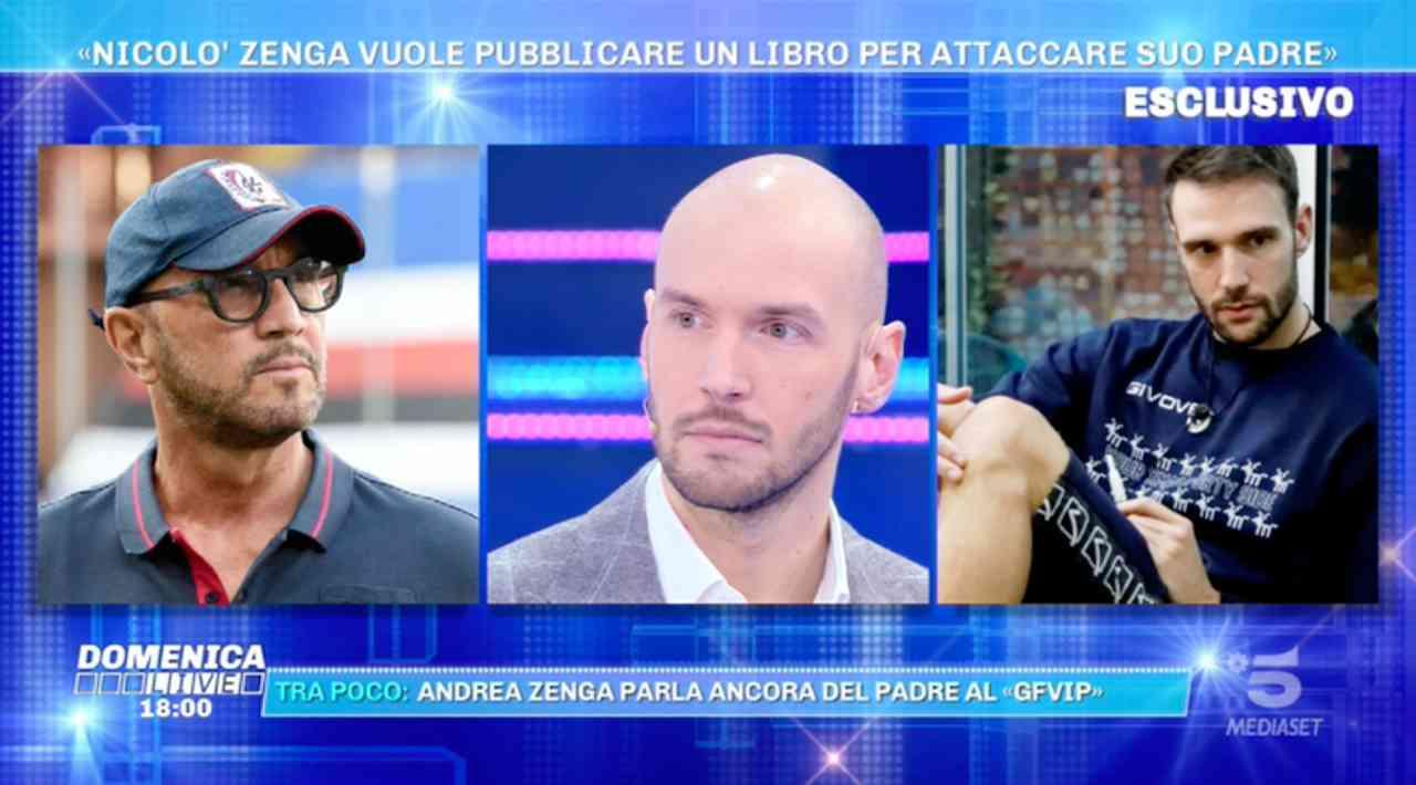 Andrea Zenga smentito in diretta: