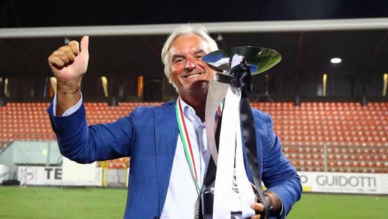 Stefano Chisoli, presidente Spezia. Twitter ufficiale Spezia