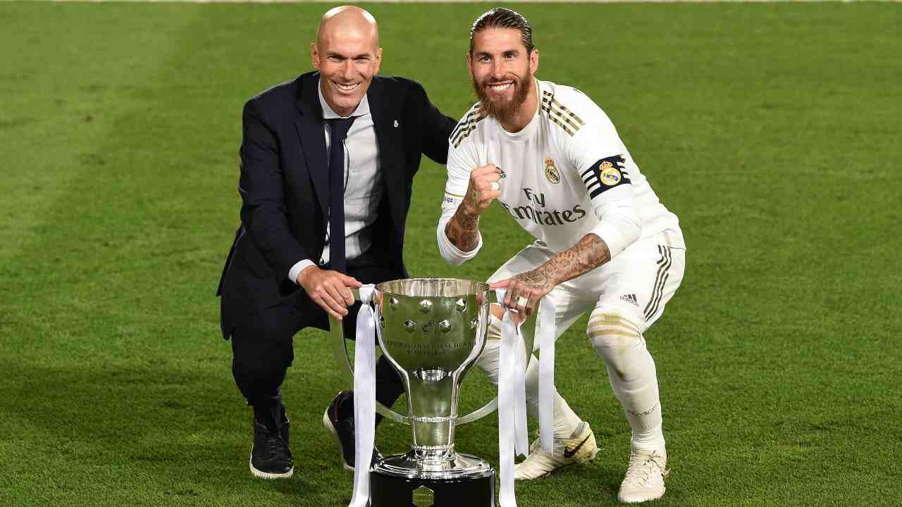 Zidane e Sergio Ramos