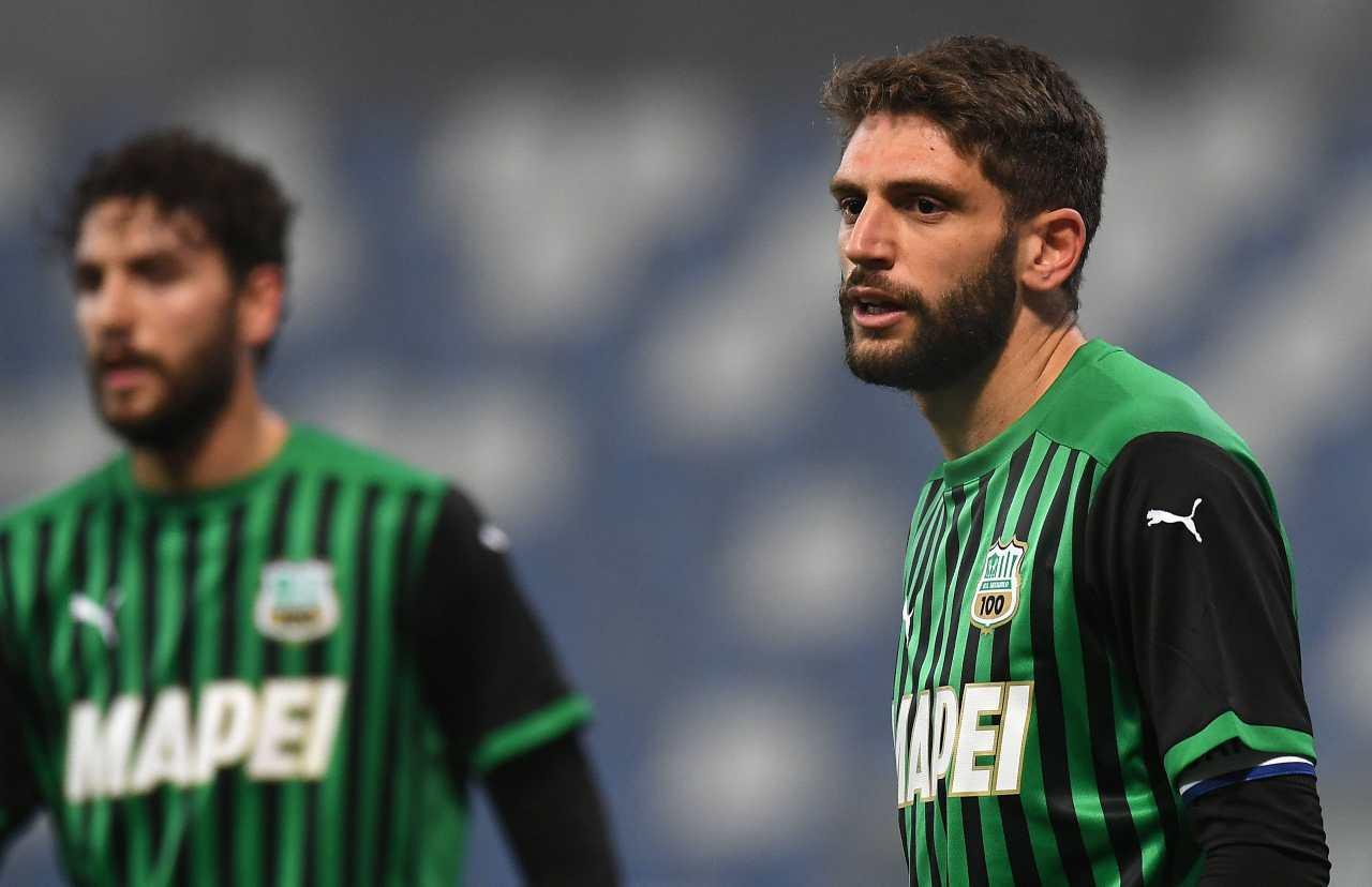 Domenico Berardi (Photo by Alessandro Sabattini/Getty Images)