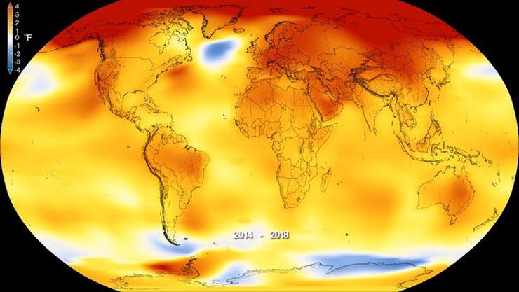 clima 2020 anno più caldo