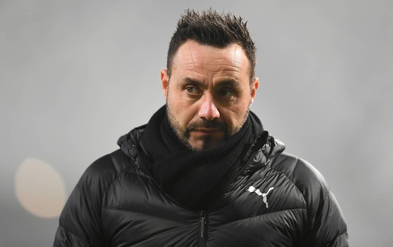 Roberto De Zerbi (Photo by Alessandro Sabattini/Getty Images)