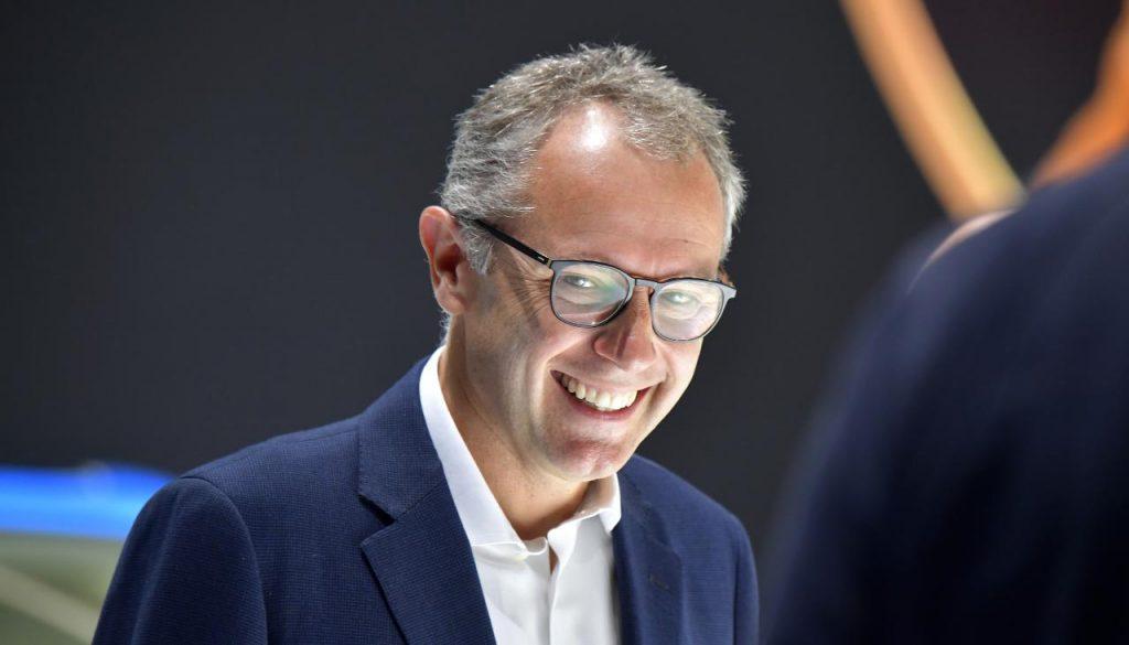 Il sorriso del nuovo capo della Formula 1