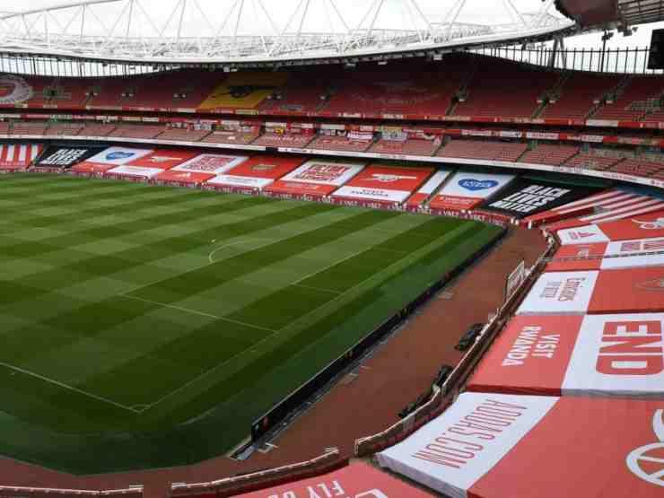 Arsenal, l'Emirates Stadium (foto © Arsenal)