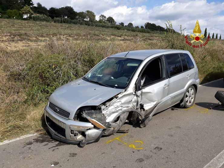 incidente auto brescia