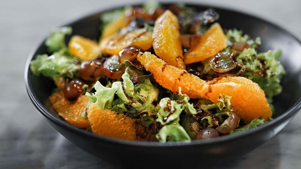 insalata di agrumi e sarde light