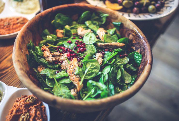 insalata invernale di pollo ricetta light