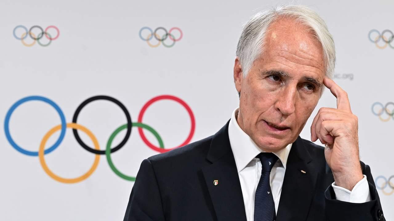 malagò coni olimpiadi