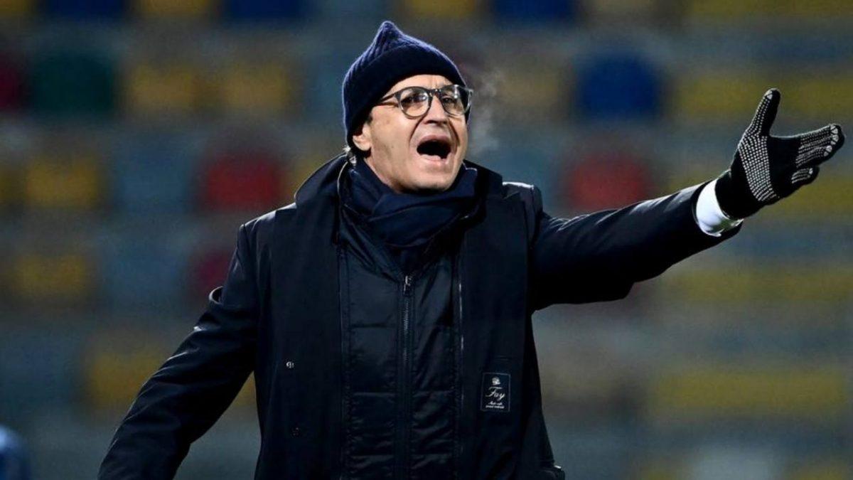 SPAL, l'allenatore Pasquale Marino a bordocampo (foto © SPAL)