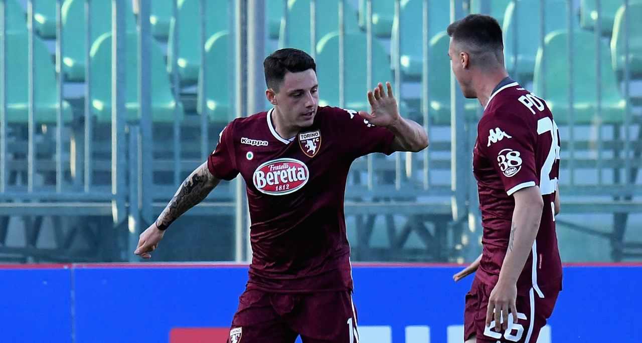 Millico al Frosinone (Photo by Alessandro Sabattini/Getty Images)