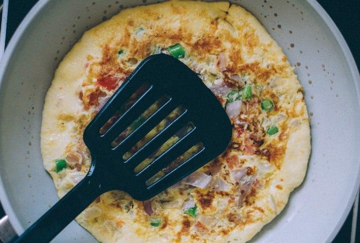 frittata ai porri ricetta light veloce