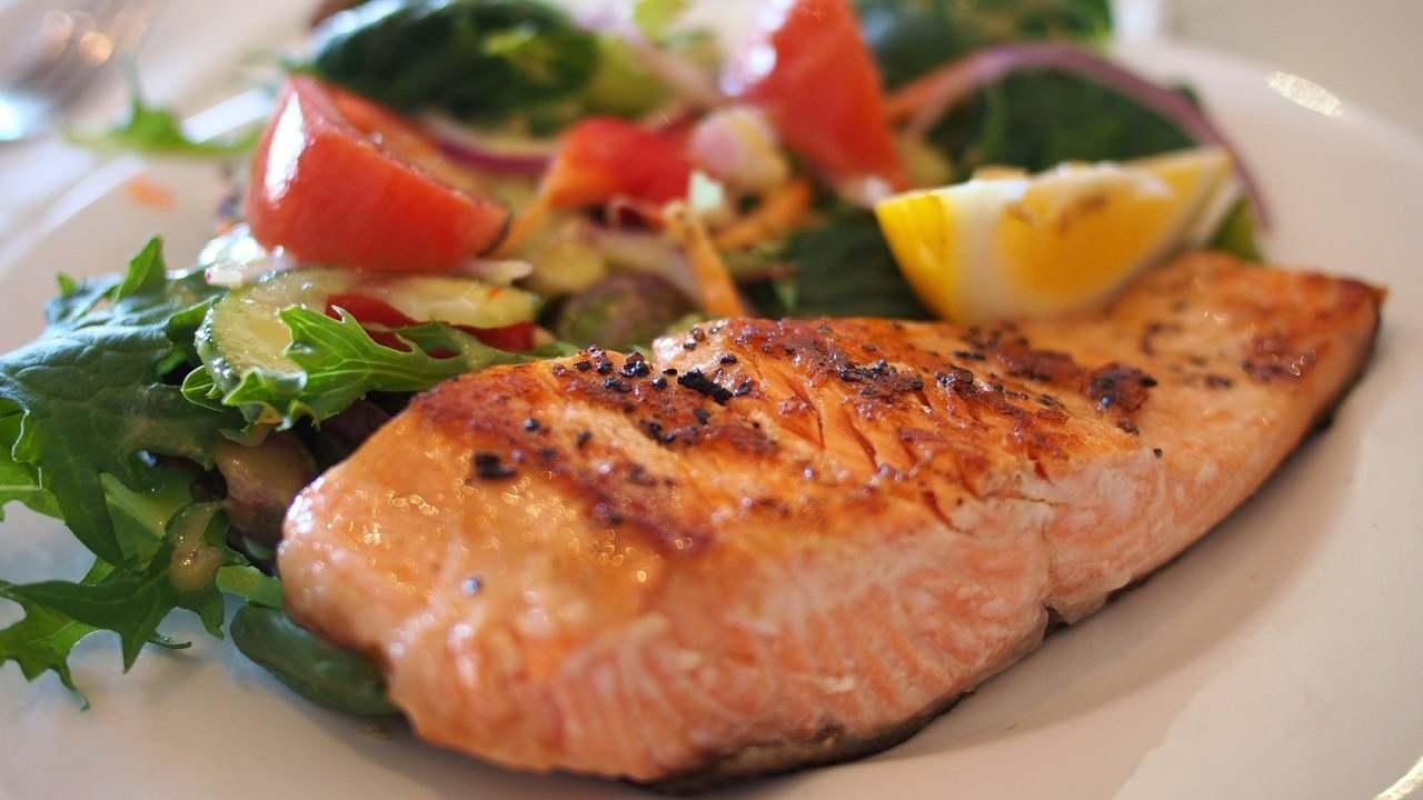 salmone ricetta light