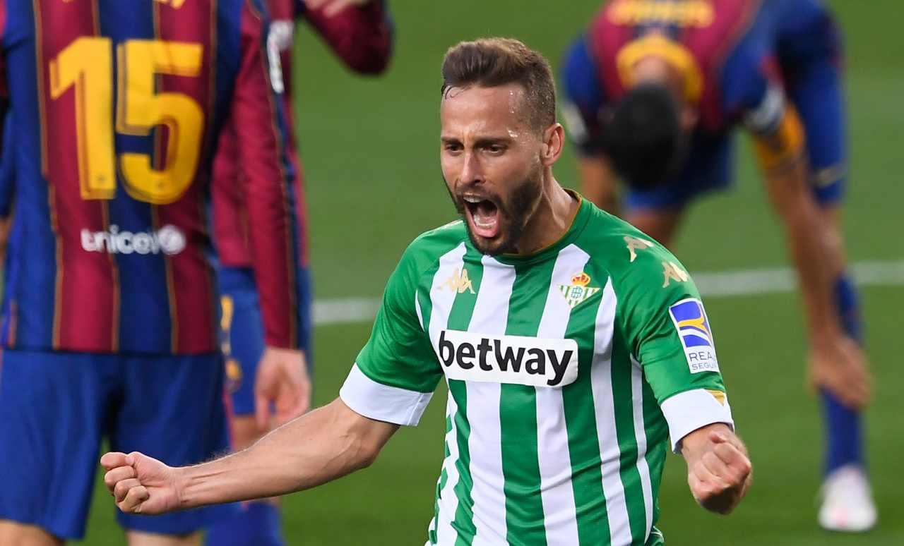 Antonio Sanabria al Torino (Photo by JOSEP LAGO/AFP via Getty Images)
