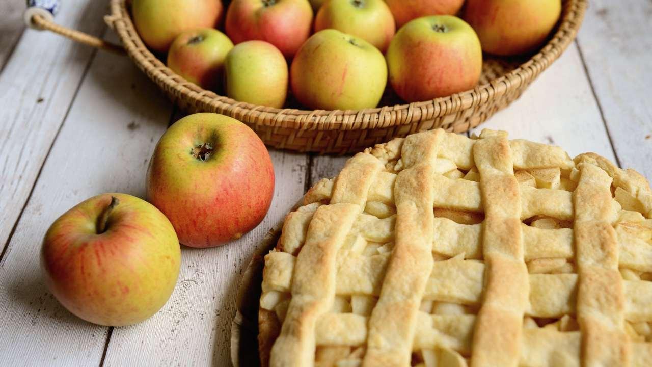 ricetta light della torta di mele e zucca