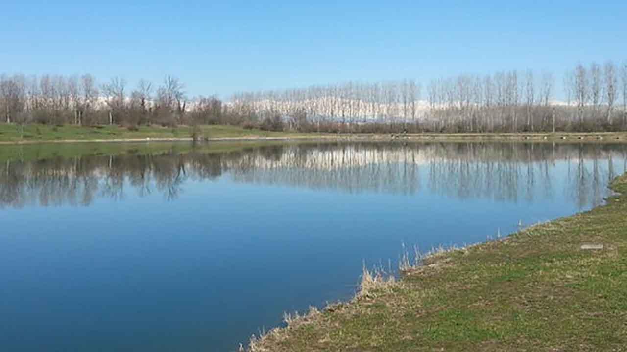 Diciottenne, lago Sorgente Po