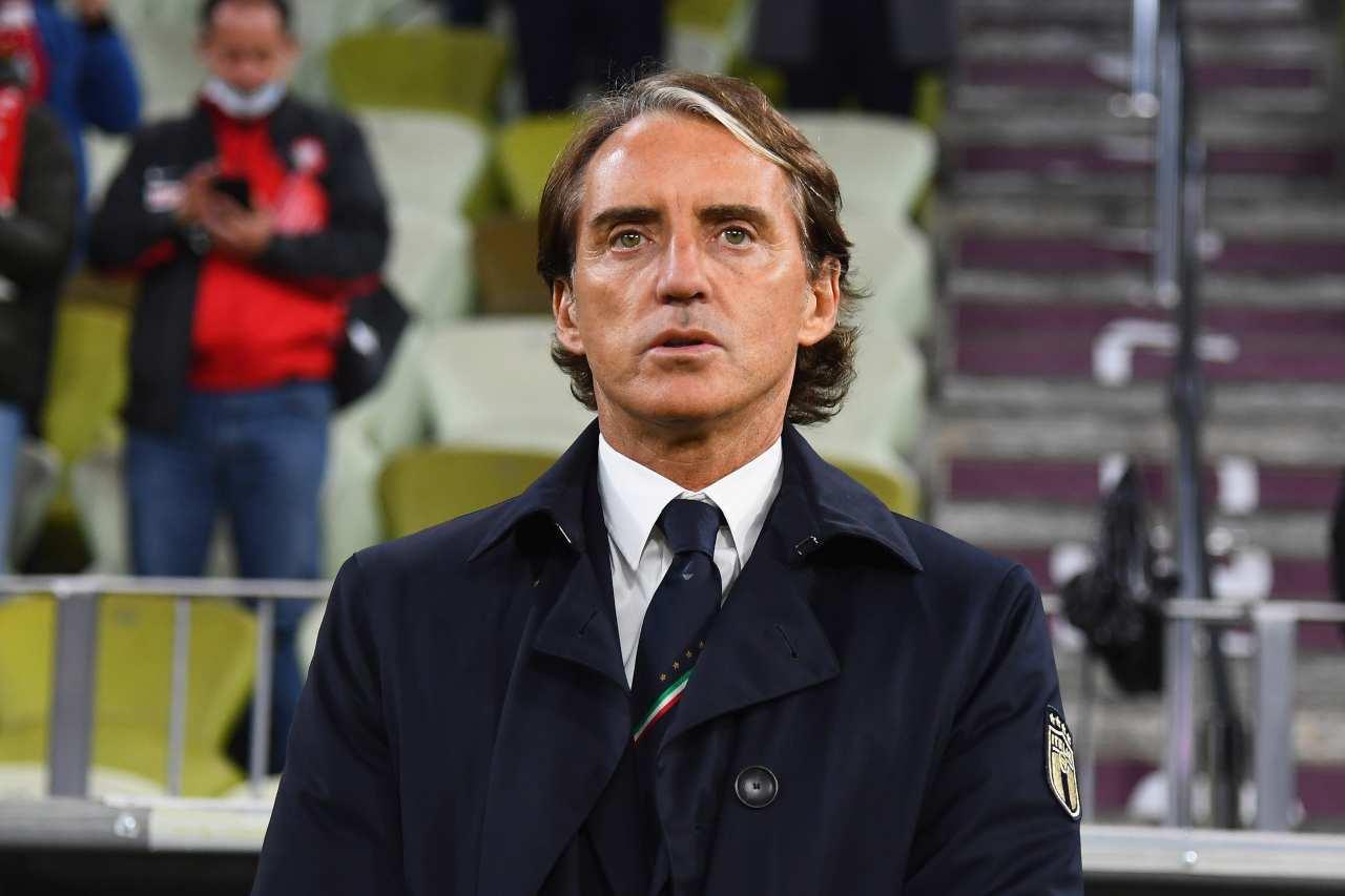 Roberto Mancini, commissario tecnico dell'Italia. Getty Images