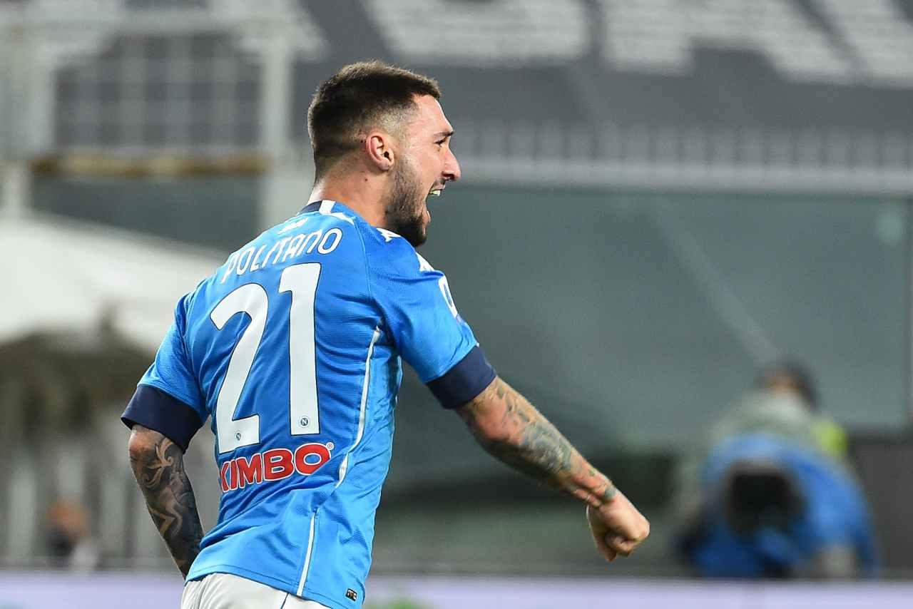 Matteo Politano, attaccante del Napoli. Getty Images