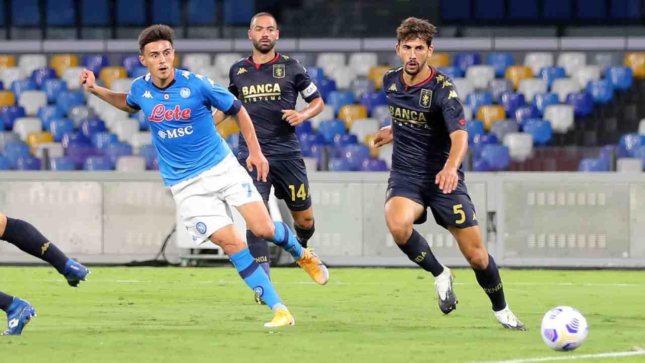 Genoa Napoli diretta streaming