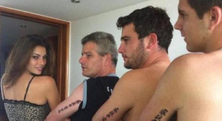 Il tatuaggio familiare Mello - meteoweek
