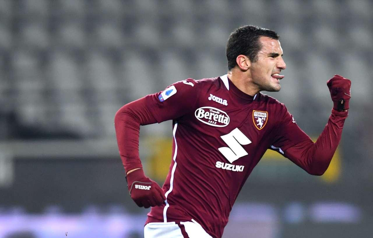 Federico Bonazzoli (Photo by Valerio Pennicino/Getty Images)