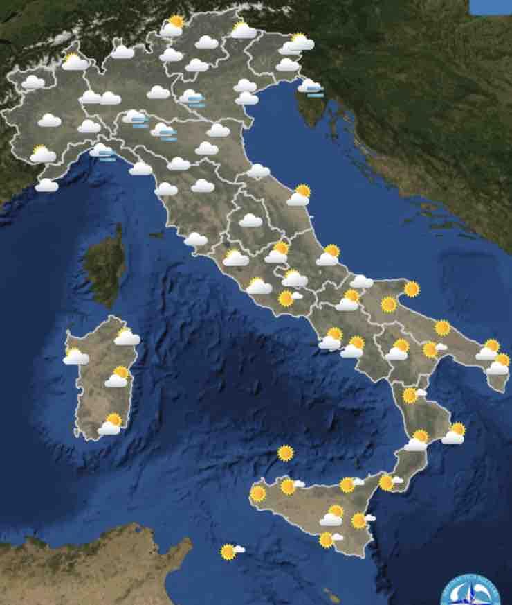 Meteo Italia Cartina.Previsioni Meteo Oggi Giovedi 4 Febbraio E Prossimi Giorni Italia Divisa In Due Meteoweek