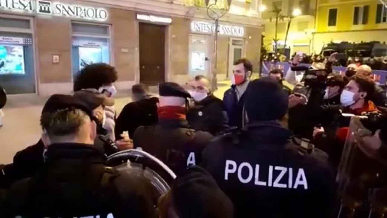 Sanremo protesta ristoratori