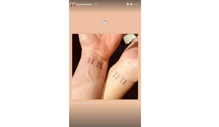 Tattoo Aniston