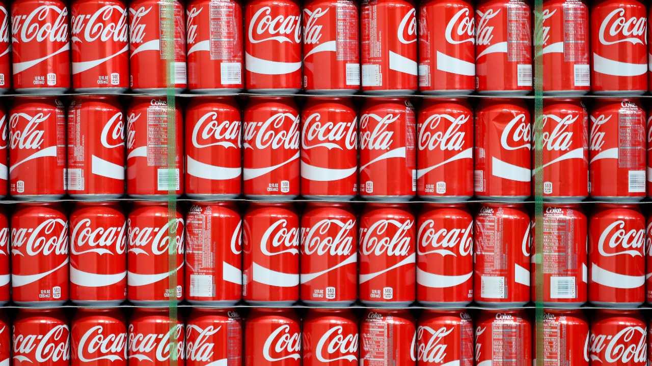 coca-cola imballaggio green