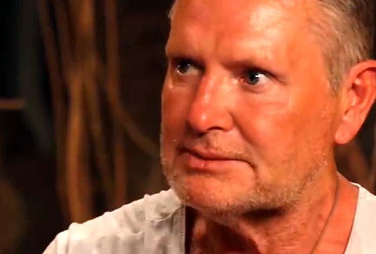 Paul Gascoigne a l'Isola dei famosi